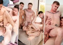 Next Door update: two hardcore duos and a bareback foursome