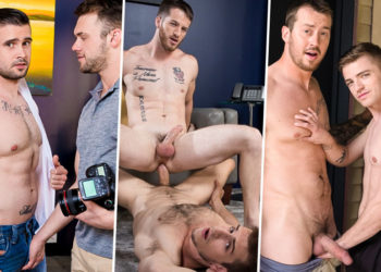 Next Door Studios update: The latest four bareback scenes