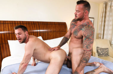 "Sean Duran pounds Hans Berlin in ""Resort Love"" from Pride Studios"