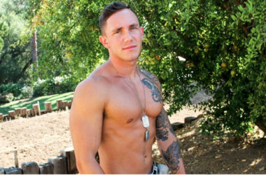 Hot newcomer Cole Weston rubs out a nice load for Active Duty