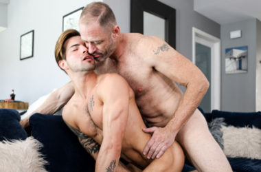"D Arclyte plows Casey Everett's sexy ass in Icon Male's ""Yes Daddy!"""