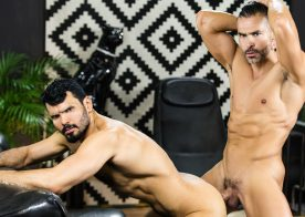 """D.O. and Jean Franko fuck each other in """"Telenovela"""" part three from Men.com"""