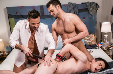 "Manuel Skye and Blaze Austin dominate and fuck Dakota Payne in ""Daddy's Good Boy"" part 5"