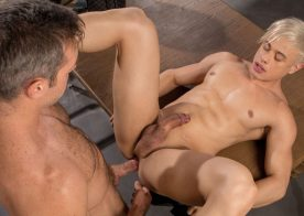 "Alex Mecum fucks Alam Wernik in the 1st scene from the new Falcon Studios movie ""Work It Up"""