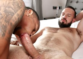 César Paulino takes Andy Onassis' thick raw cock at TimTales