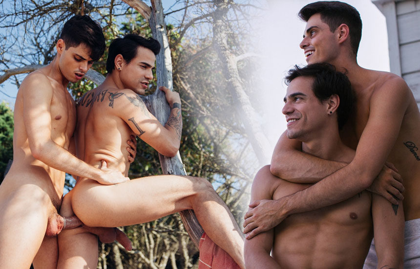 """Ben Masters fucks Levi Karter in """"Just Being Me"""" from CockyBoys"""