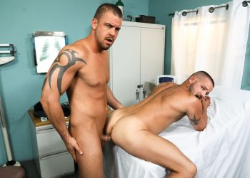 Darin Silvers slams his cock into Sean Harding's ass at Pride Studios