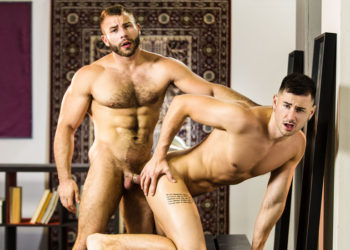 "Lukas Daken debuts at MEN and bottoms for Diego Reyes in ""Shadow Fucker"""