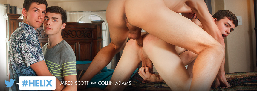 Jared Scott and Collin Adams