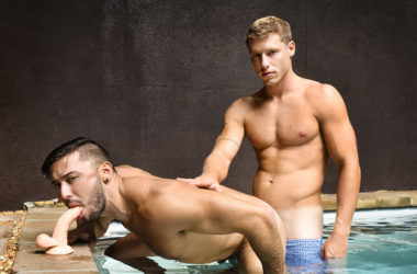 Newcomer Shane Jackson gets fucked at both Men.com and Reality Dudes
