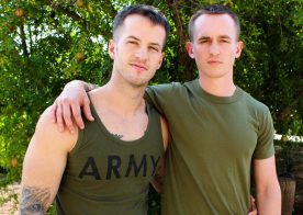 Kevin Texas is back at Active Duty and gets serviced by Quentin Gainz