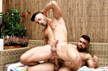 Andy Star rides Wagner Vittoria's huge raw cock at TimTales
