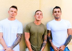 Laith Inkley, Cole Weston and Gunner Canon in a hot Active Duty threesome