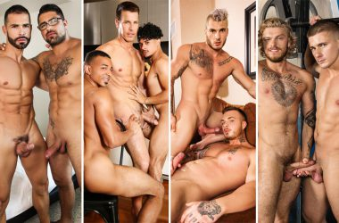 Men.com update: Ryan Bones, D.O, Kelly Evans, Armond Rizzo, Zario Travezz, Theo Ross & more