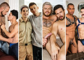 Men.com update: Cazden Hunter, Domonic Michaels, Armond Rizzo, Nikko Russo & more