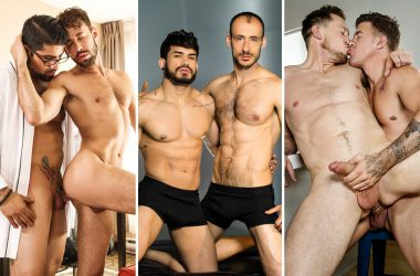 Men.com: Ryan Bones, Brandon Jones, Pietro Duarte, Ely Chaim, JJ Knight & Pierce Paris