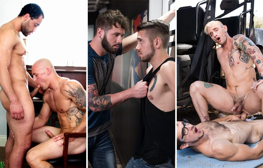 Next Door vids: David Rose, Trevor Laster, Dante Colle, Johnny Hill, Donte Thick and Lance Ford