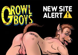 New Site Alert: Innocent boys being transformed into furry GrowlBoys