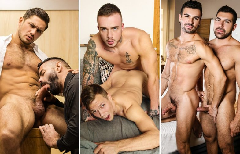MEN update: Dato Foland, Victor D'Angelo, Theo Ross, Ethan Chase, Damien Stone & Ian Greene