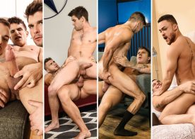 Men.com update: Pierre Fitch, William Seed, Johnny Rapid, JJ Knight, Beaux Banks & more
