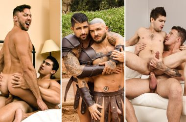 MEN update: Axel Kane, Shane Jackson, Ryan Bones, Francois Sagat, JJ Knight & Johnny Rapid