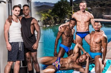Noir Male releases two hot interracial scenes this week
