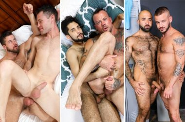 Pride Studios update: Mars Rousseau, David Austin, Jacob Connar, Atlas Grant, Sean Harding
