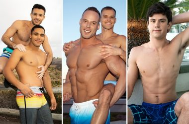 Sean Cody: Murray fucks Manny, Jack bottoms for Jaymus and newbie Georgie jerks off