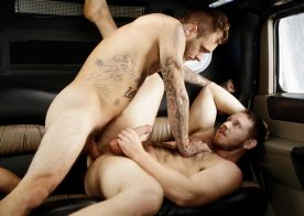 """Spencer Whitman gets fucked by Brian Michaels in Bromo's """"Stretch Me Bro"""""""