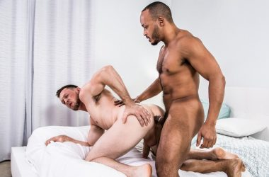 "Pierce Paris and Dillon Diaz suck and fuck each other in Noir Male's ""The Trade"""