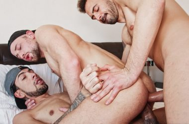 Koldo Goran and Franklin Acevedo team up & double-penetrate Drew Dixon