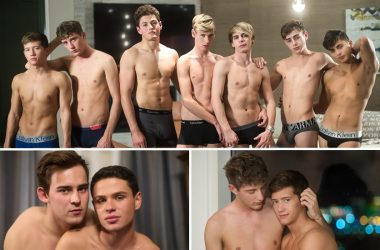 "Helix Studios releases final 2 scenes from ""Vegas Nights"" and Josh Brady fucks Dylan Hayes"