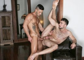 "Andy Star and Mason Lear suck and fuck each other in Kristen Bjorn's ""Main Squeeze"""