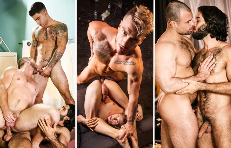 Men.com: Diego Sans, Vadim Black, Scott Riley, William Seed, Ethan Chase & Jaxx Thanatos