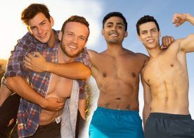 Kaleb fucks Asher while Archie creampies Sean in the latest Sean Cody releases