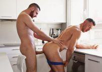 TimTales exclusive John Thomas bottoms for Tim Kruger, takes his third huge cock