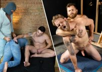 James Huck uses Rudy Valentino as his fuck toy and Shawn Reeve flip-fucks with Riley Mitchel