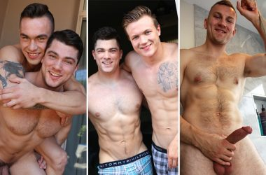 GayHoopla update: Collin Simpson, Travis Youth, Ryan Lacey and Bryce Beckett