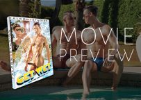 """Eight muscle hunks suck and fuck by the pool in Falcon Studios' new movie """"Get Wet"""""""