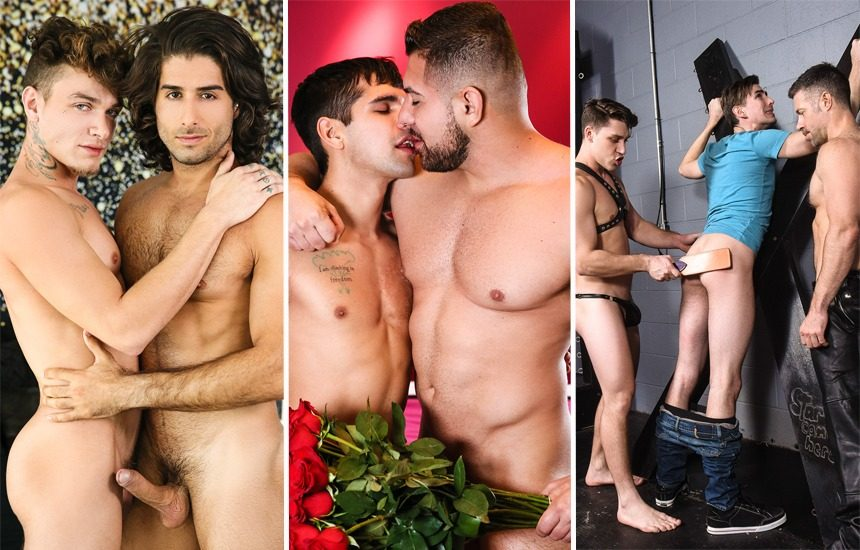 MEN update: Diego Sans, Luis Rubi, Damien Stone, Ty Mitchell, Jack Hunter & more