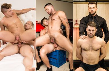 MEN: John Magnum, Jake Porter, Paul Canon, Julian Knowles, James Castle & Tyler Berg