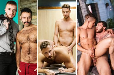 MEN update: Theo Ross, Teddy Torres, Logan Moore, Damon Heart, William Seed & more