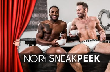 Noir Male Sneak Peek: Here are the Studio's upcoming Interracial Scenes