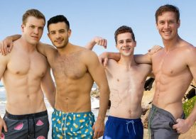 Sean Cody: Manny bottoms for Clyde and Jax fucks power bottom Robbie