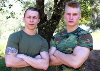 Bradley Hayes and Blake Effortley fuck each other at Active Duty