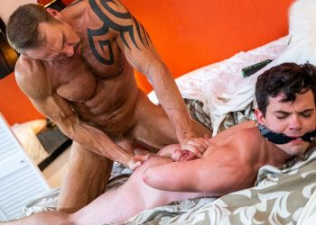 Dallas Steele dominates and fucks his stepson Dakota Payne at Lucas Entertainment