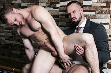 "Malek Tobias takes Andy Onassis' thick cock in ""Make Me Wet"" from Men At Play"
