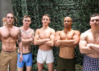 Active Duty vids: Mike O'Brian, Arlington Jones, Ryan Jordan, Alexander Maximus, Liam Daniels