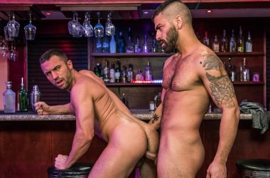 "Bearded top Adam Ramzi pounds Colby Tucker in ""Don't Tell My Wife"" part two"