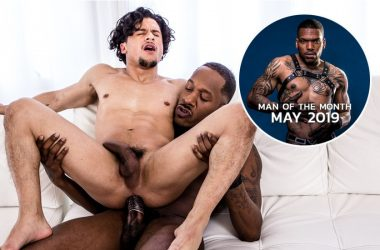 Armond Rizzo rides Deep Dicc's huge cock and Aaron Reese is MOTM May 2019